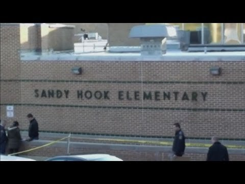 Footage of Sandy Hook shooting scene released by Police