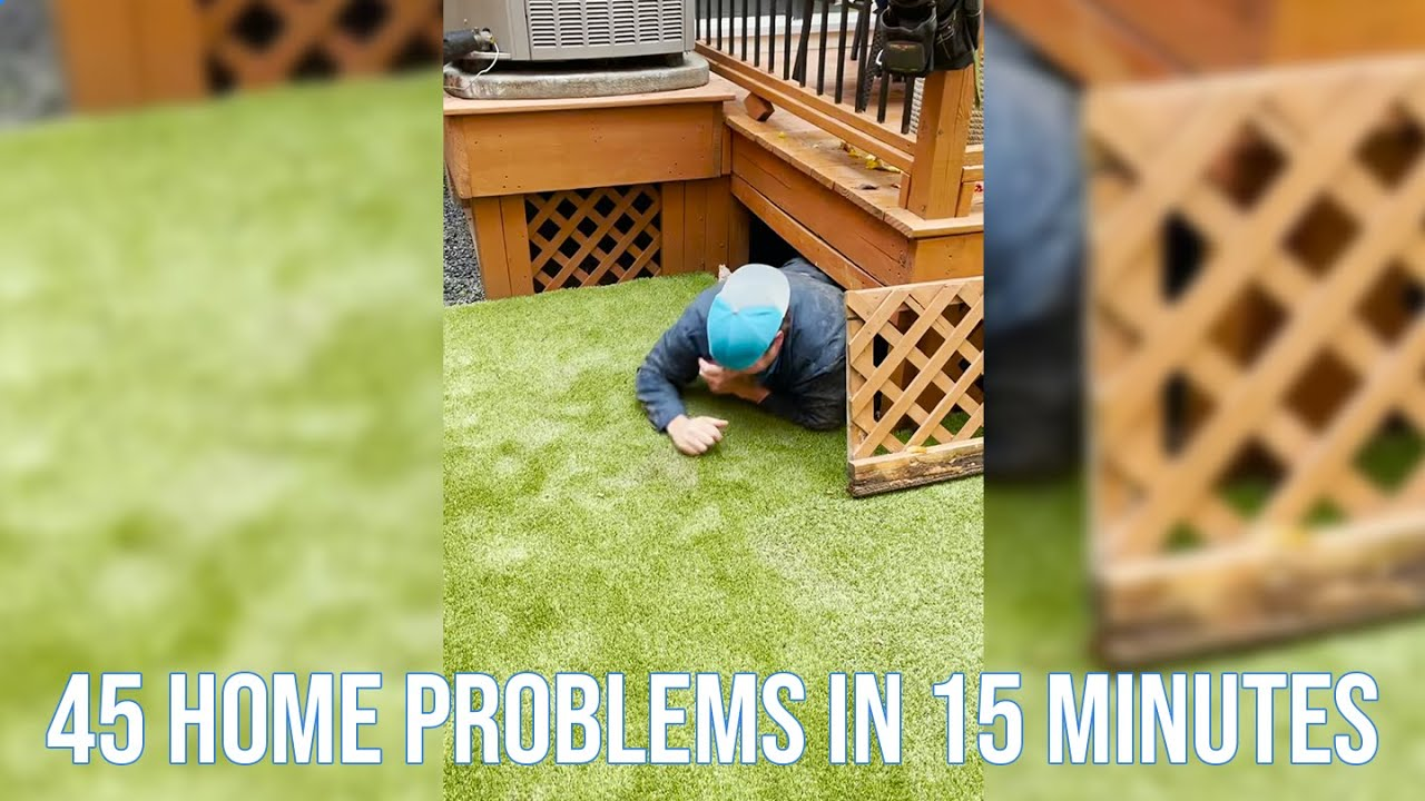 45 Home Problems in 15 Minutes
