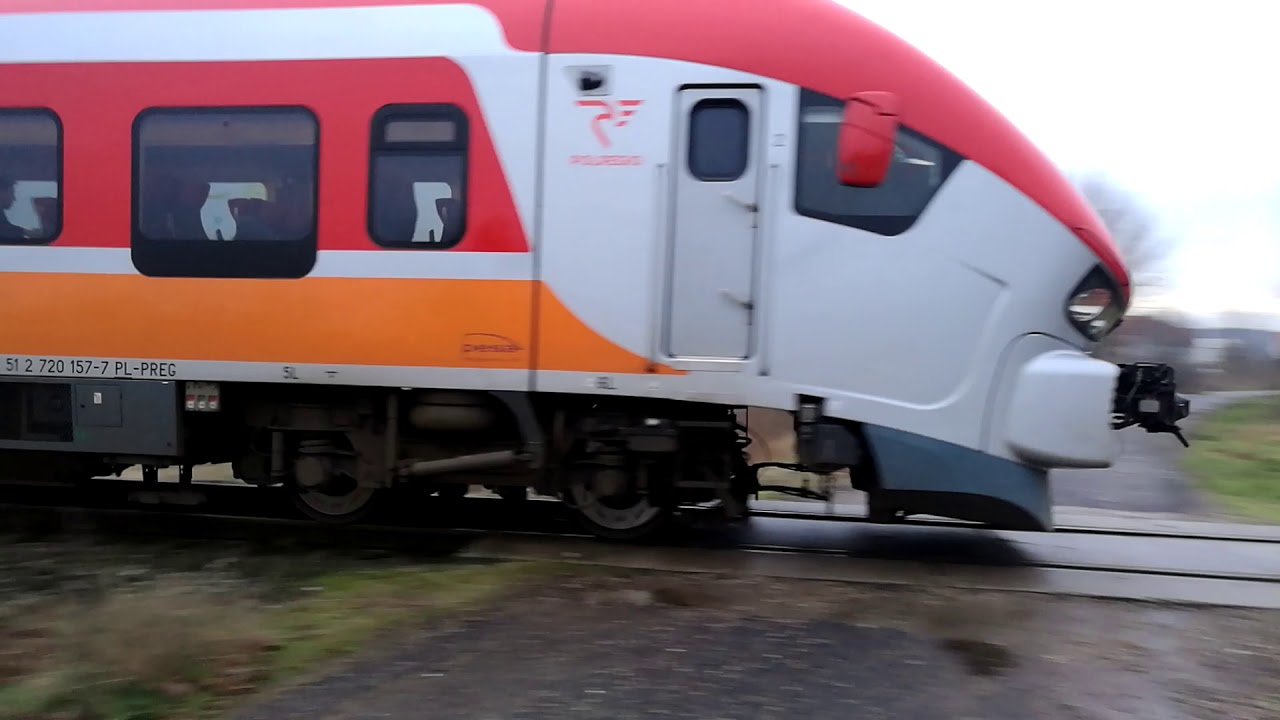 [Skwierzyna] SA139-023 jako pociąg relacji Gorzów Wlkp. - Zielona Góra