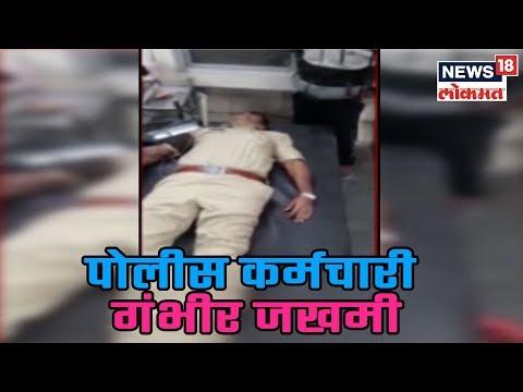 Solapur मध्ये पोलीस आणि दरोडेखोरात चकमक | 10 Feb 2019 | SAKAALCHYA BAATMYA