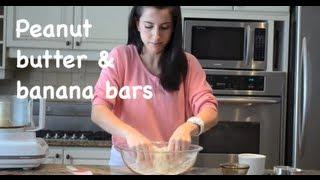 Healthy Recipe: Peanut Butter & Banana Energy Bars