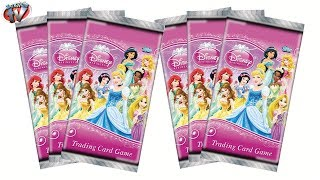 Disney Princess Trading Cards Starter Pack Review & Pack Opening, Topps