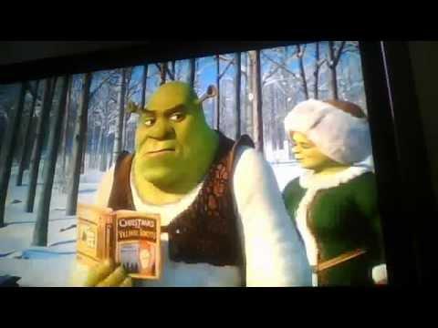 Préparation Noel de Shrek