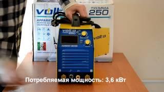 Отзывы о аппарате аргонно-дуговой сварки Volta TIG MMA 250, відгуки(Сварочный аппарат Volta TIG MMA 250, качественной европейской сборки, оснащен новейшим микропроцессором контроля..., 2014-12-09T12:48:17.000Z)
