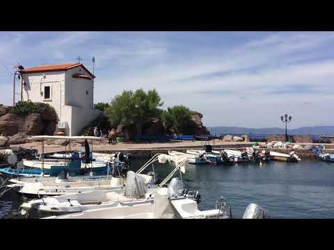 Lesbos Island Skala Sykaminias