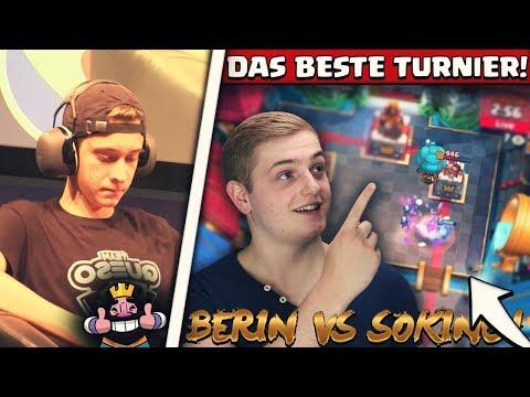 DAS UNGLAUBLICHSTE BATTLE DES TURNIERS! | Berin vs Soking! | Clash Royale Deutsch