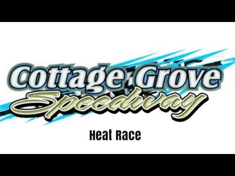 Sprint Car Heat Race at the Cottage Grove Speedway!