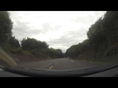 Car drive through Ireland - Part 3/8: Cork to Glengarriff