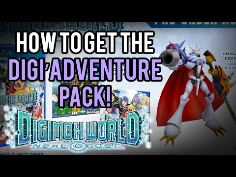 Digimon World Next Order | DIGI'ADVENTURE PACK [HOW TO GET]