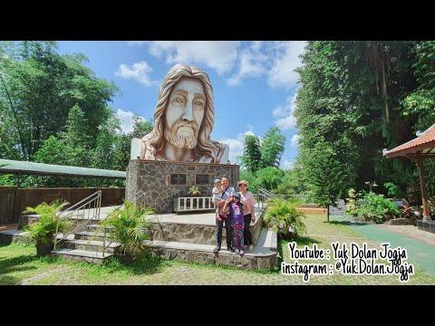 wisata-keluarga-terbaru-yogyakarta-#yukdolanjogja-wisata-religi-katolik-patung-kepala-yesus-yogyakar
