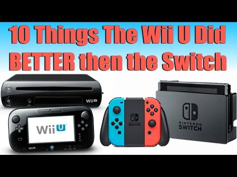 10 Things The Wii U Did Better Then The Switch