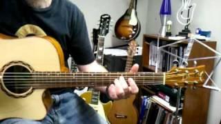 drop d dorian mode guitar lesson
