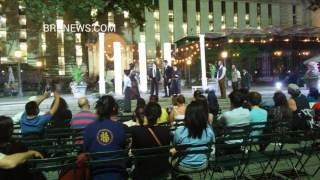 Bryant Park. Shakespeare in the Parks New York part 2 2016