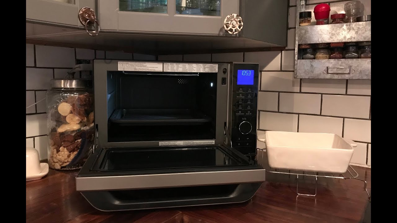 How To Use Your Panasonic Combination Microwave Oven Review