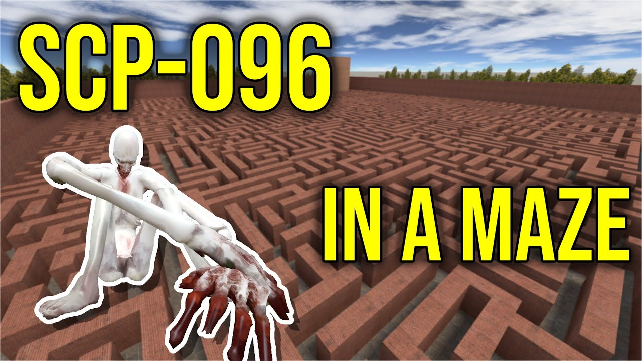 SCP-096 Experiment | GMOD