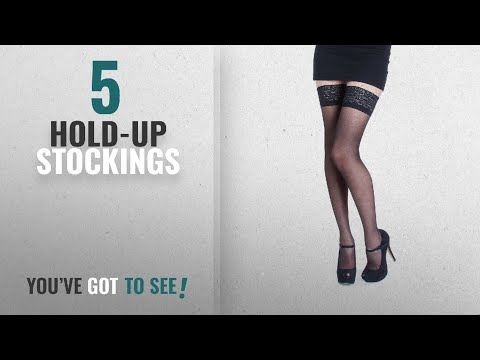 Top 10 Hold-Up Stockings [2018]: NEW Lace Top 20 Denier Sheer Hold Ups Stockings 17 Various