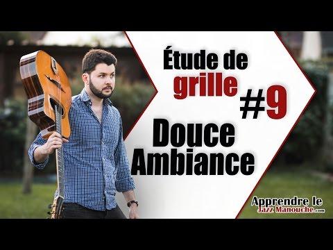 Chord chart study #9 - Douce Ambiance (Django Reinhardt) - Learning Gypsy Jazz