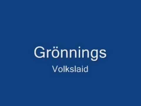 Gronings volkslied + tekst