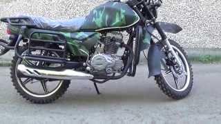 Мотоцикл COMANDOR камуфляж