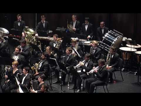 UNC Wind Ensemble - Country Band March | Charles Ives