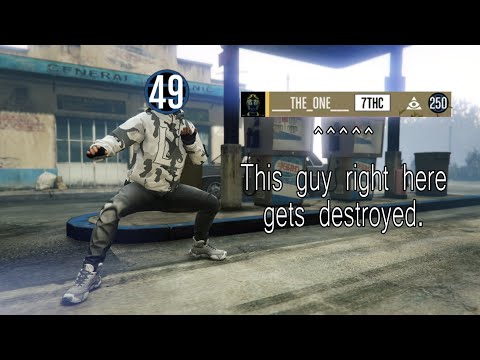 Level 49 DESTROYS level 250 high kd player
