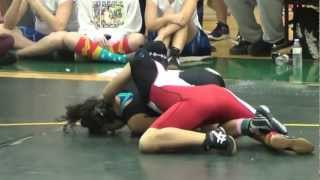 Jasmine Florida Girls High School Wrestling Championship Match @ 138 lbs
