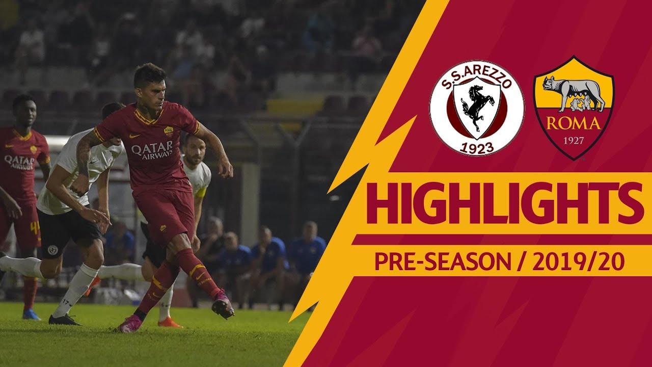 Arezzo v Roma 1-3 MATCH HIGHLIGHTS | 2019-20 PRE-SEASON