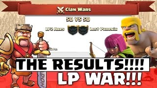 Clash of Clans - Team Galadon V's Team Dollars THE RESULTS!