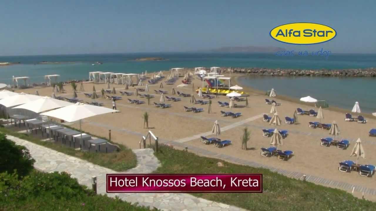 Hotel knossos beach kreta youtube for Designhotel kreta