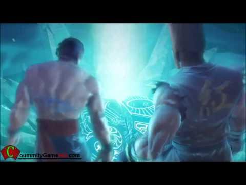 Street Fighter X Tekken Paul and Law Story Ending Cinematic *Spoilers*