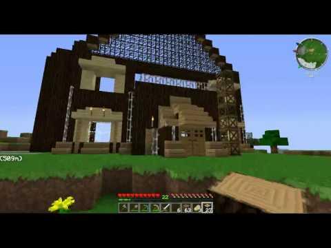 -Minecraft Ultimate- # 005 - La casa in LIVE -