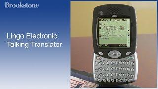 Lingo Electronic Talking Translator