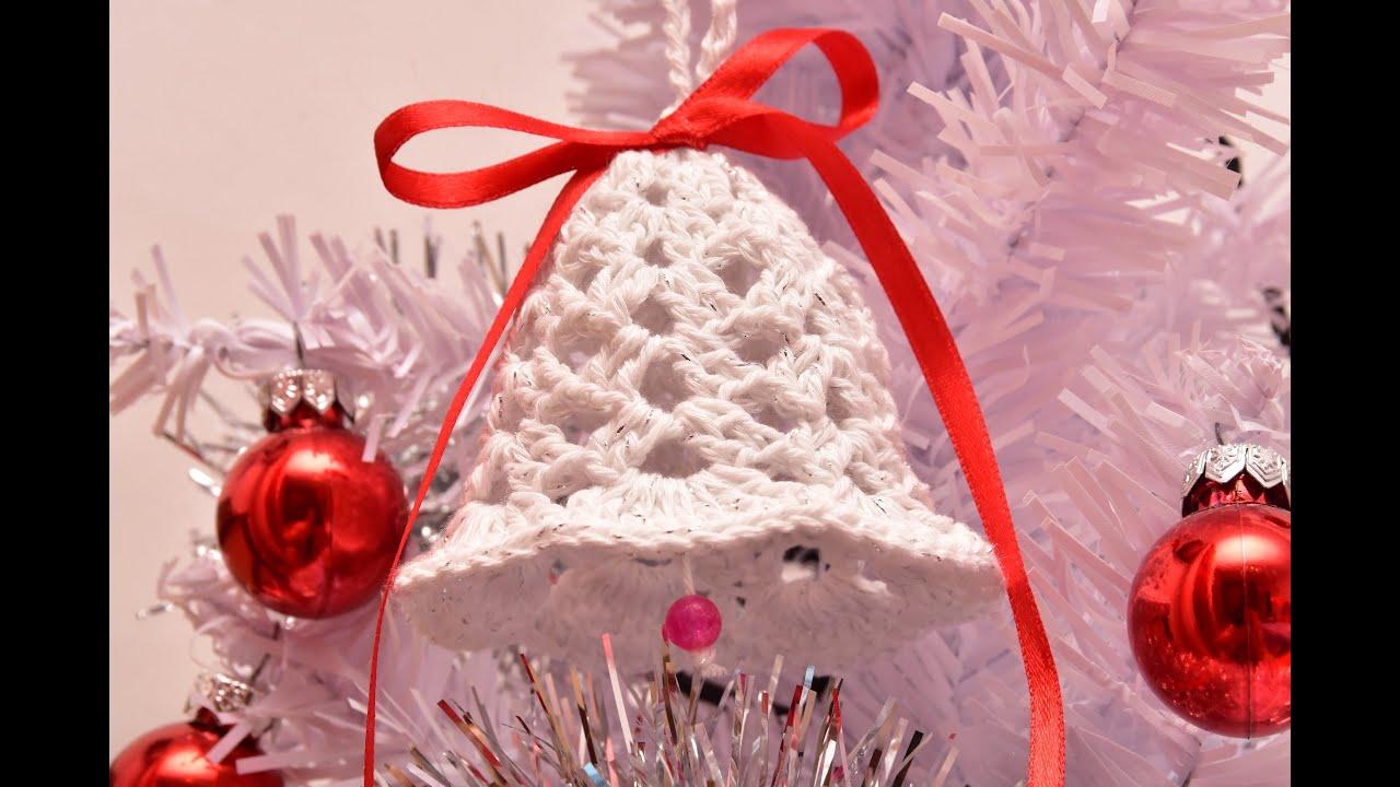 Ornamente Craciun - Clopotel Crosetat