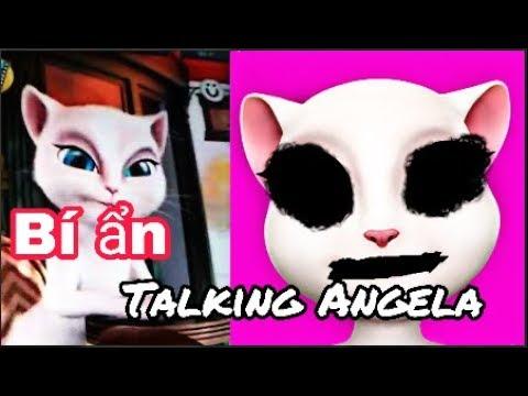 """Bí ẩn trò chơi """" Talking Angela """""""