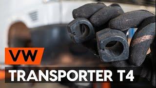 Как заменить втулки переднего стабилизатора на VW TRANSPORTER 4 (T4) [ВИДЕОУРОК AUTODOC]