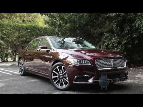 2017 Lincoln Continental First Look