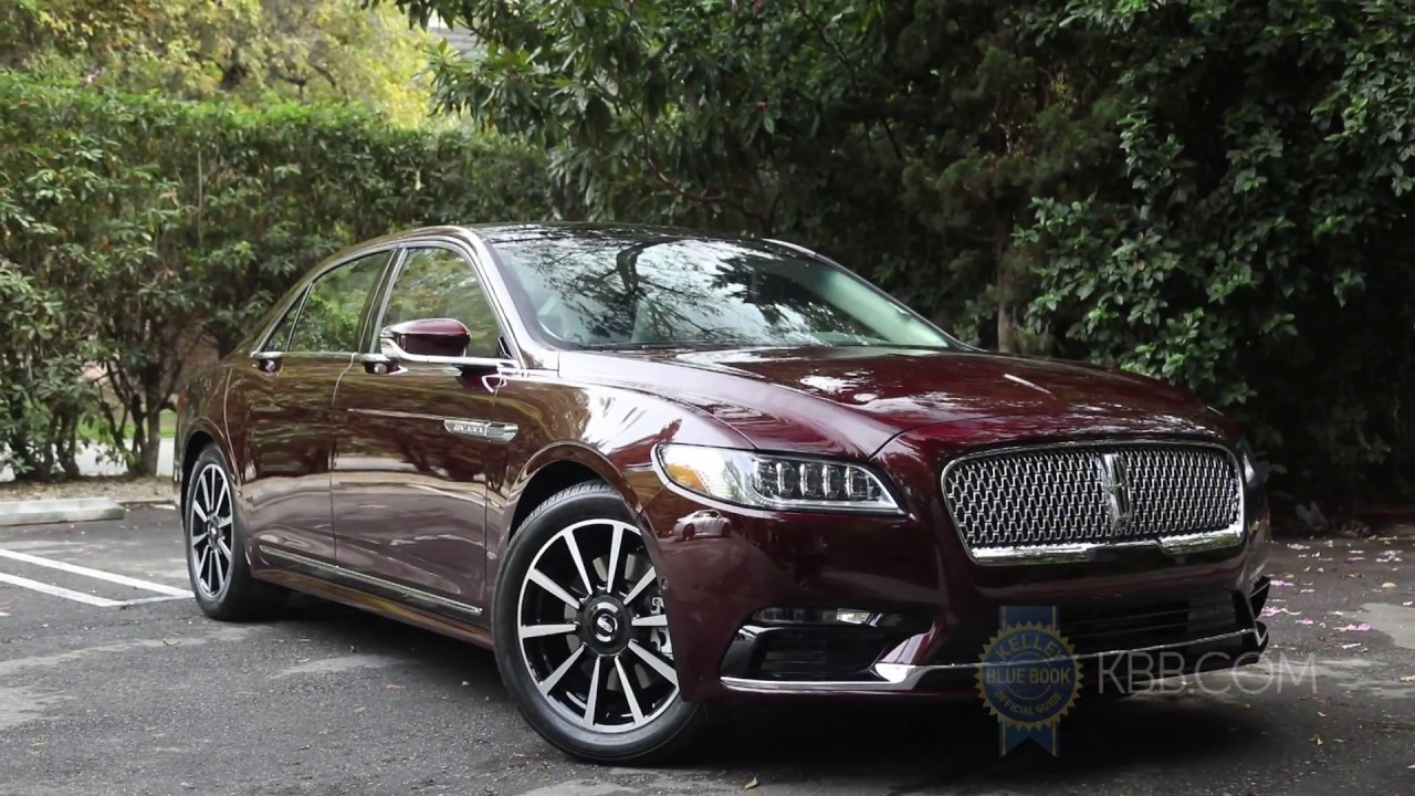 2017 Lincoln Continental First Look Youtube