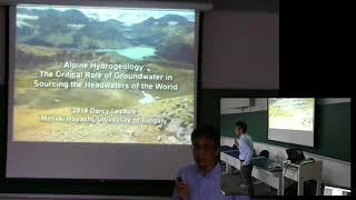 Palestra: Hidrogeologia de montanhas, por Prof. Dr. Masaki Hayashi