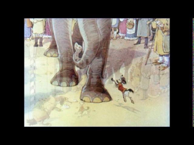 Изображение предпросмотра прочтения – СтарицкаяАлина читает произведение «Слон и Моська» И.А.Крылова