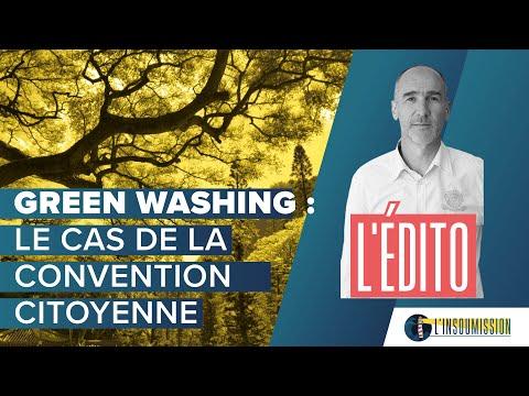 Green washing : le cas de la convention citoyenne