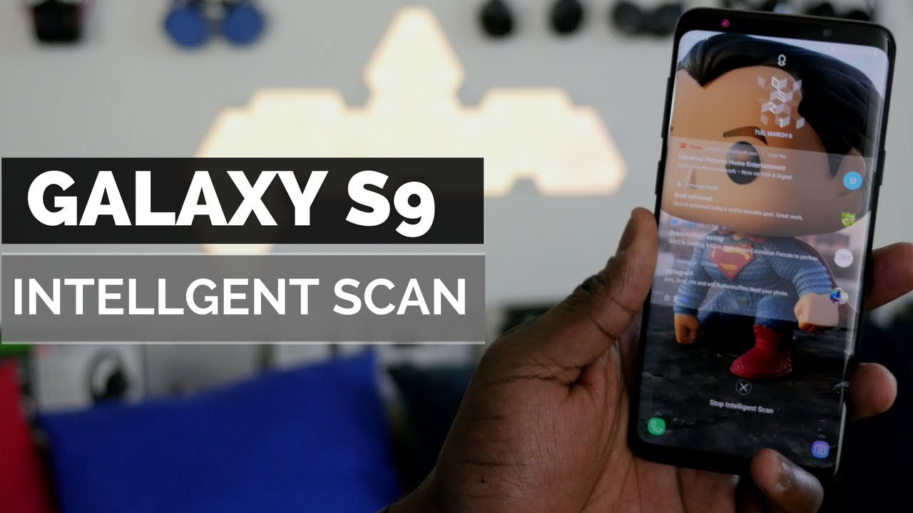 Samsung Galaxy S9 S9 Plus Intellgent Scan