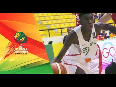 Senegal v Tunisia - Full Game - FIBA U18 African Championship 2018
