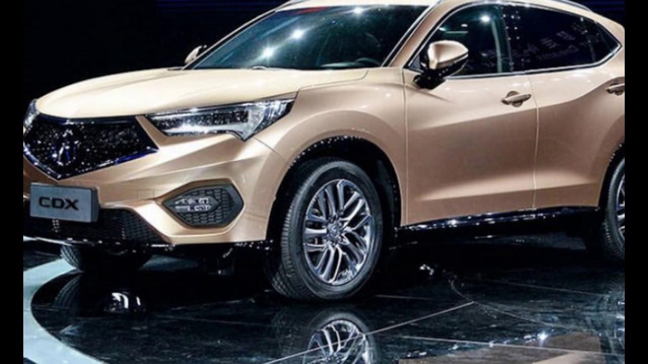 The Suv 2018 Acura Cdx New
