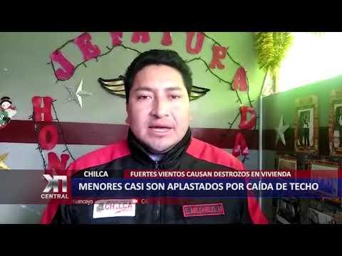 MENORES CASI SON APLASTADOS POR CAÍDA DE TECHO