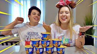 ❌ NÃO ESCOLHA O MACARRÃO ERRADO! Don't Choose the Wrong Mac & Cheese Slime Challenge! thumbnail