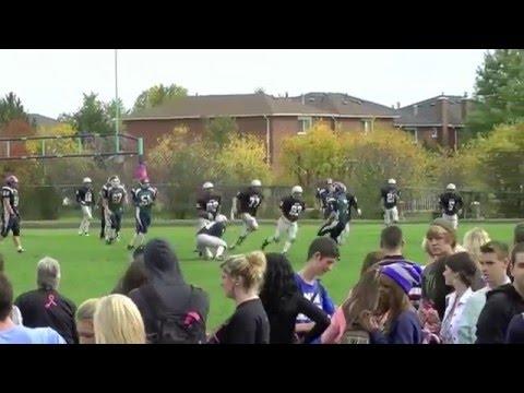 Michael Malo 2011 Football Highlights