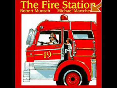 The fire station youtube for Robert munsch coloring pages