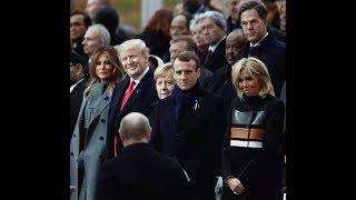 Лысина Путина в Париже
