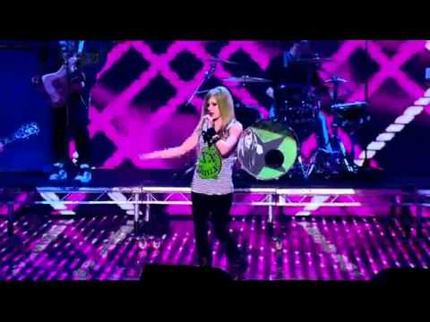 Avril Lavigne - What The Hell / Smile - Britains Got Talent 2011