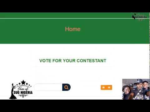Online Voting, Update Face Of SUG Nigeria
